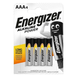 Alkaline Batterie AAA 1.5 V Power 4-Blister