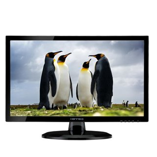 HannsG 59.9cm (23,6) HE247DPB 16:9  DVI LED 5ms black Spk.