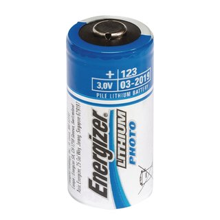 Lithium-Batterie CR123A 3 V 2-Blister