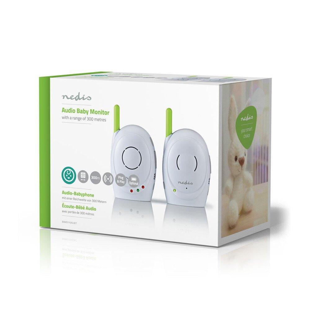 Audio Babyphone   2,4 GHz   Gegensprechfunktion